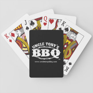 Uncle Tony's BBQ Playing Cards