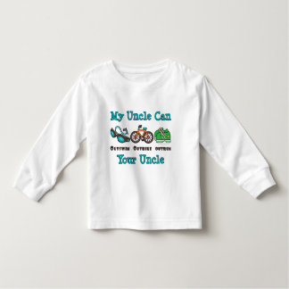 Uncle Triathlon Long Sleeve Toddler Tee Shirt
