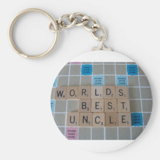 Uncle Two Keychain