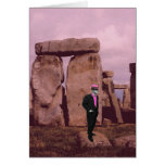 uncle vic goes to stonehenge card