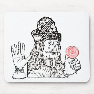 Uncle Vlad has a lollipop Mouse Pad