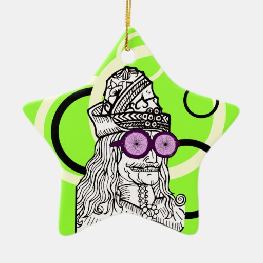 Uncle Vlad the evul ge-nius! Christmas Ornaments