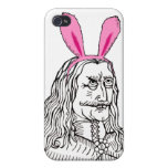 Uncle Vlad with bunny ears Cover For iPhone 4