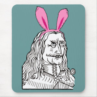 Uncle Vlad with bunny ears Mouse Pad