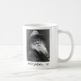 Uncle Walt Whitman Age 68 Classic White Coffee Mug
