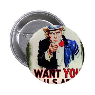 Uncle wants you button