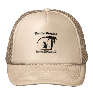 Uncle Wayne and the Howling Dog Band trucker hat