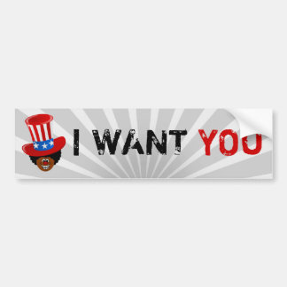 Uncle Willie Wants You Bumper Sticker