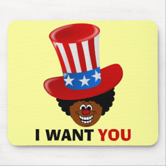 Uncle Willie Wants You Mouse Pad