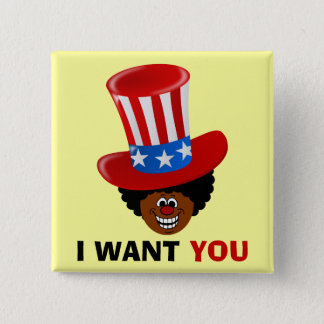 Uncle Willie Wants You Pinback Button