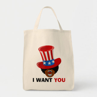 Uncle Willie Wants You Tote Bag