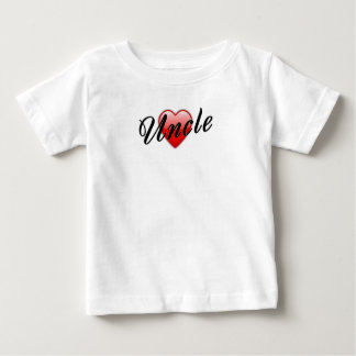 Uncle with Heart Graphic Tshirt