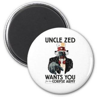 Uncle Zed Refrigerator Magnet