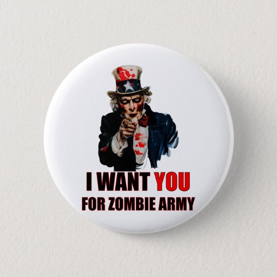 Uncle Zombie Button
