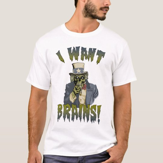 Uncle Zombie Halloween T-Shirt