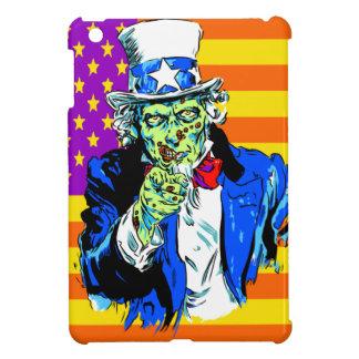Uncle Zombie Sam iPad Mini Cases