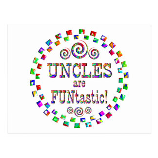 Uncles are FUNtastic Postcard