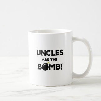 Uncles Are The Bomb! Classic White Coffee Mug