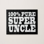 Uncles Birthday Parties : 100% Pure Super Uncle Puzzles
