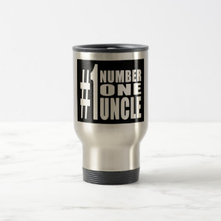 Uncles Birthdays Gifts : Number One Uncle Travel Mug