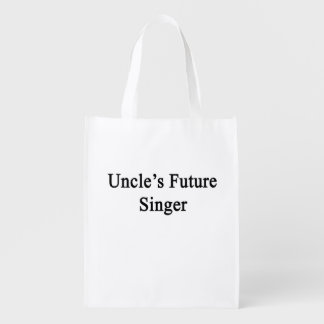 Uncle's Future Singer Reusable Grocery Bag