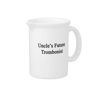 Uncle's Future Trombonist Drink Pitcher