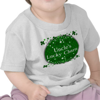 Uncle's Lucky Charm, St. Patrick's Day Baby T-shirt