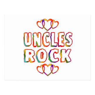 Uncles Rock Postcard