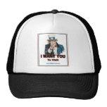 UncleSam Trucker Hat