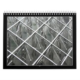 uncluttered (black and white alanart photography) wall calendars