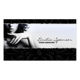 Uncolored Fashion Accessories & Jewelry Card