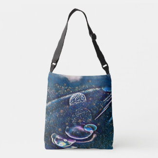 Uncommon Alien Worlds Abstract Photography Crossbody Bag