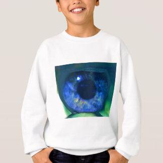 Uncommon Blue Eye Floating in Fishbowl Sweatshirt