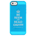 [Crown] be reem and read on!!!!!!  Uncommon Cases (iPhone 5/5s/6) Uncommon Clearly™ Deflector iPhone 5 Case