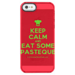 [Chef hat] keep calm and eat some pasteque  Uncommon Cases (iPhone 5/5s/6) Uncommon Clearly™ Deflector iPhone 5 Case