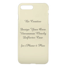 Uncommon Iphone7 Plus Clearly Deflector Case at Zazzle