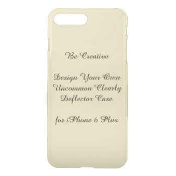 Uncommon Iphone7 Plus Clearly Deflector Case by DigitalDreambuilder at Zazzle