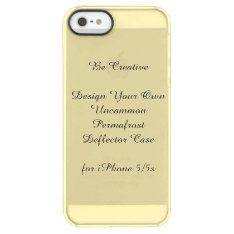 Uncommon Iphone 5/5s Permafrost® Deflector Case at Zazzle