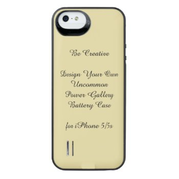 Uncommon Iphone 5/5s Power Gallery Battery Case by DigitalDreambuilder at Zazzle