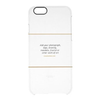 Uncommon Iphone 6 Clearly Deflector Case by Casefashion at Zazzle