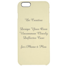 Uncommon Iphone 6 Plus Clearly Deflector Case at Zazzle
