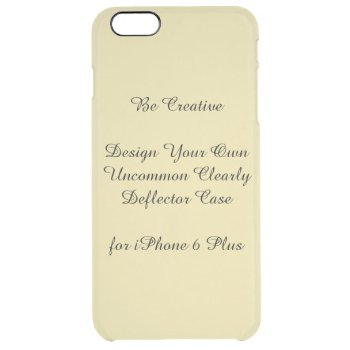 Uncommon Iphone 6 Plus Clearly Deflector Case by DigitalDreambuilder at Zazzle