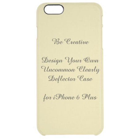 Uncommon Iphone 6 Plus Clearly Deflector Case