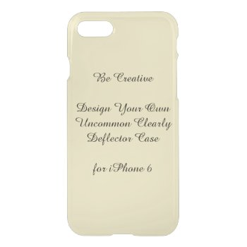 Uncommon Iphone 7 Clearly Deflector Case by DigitalDreambuilder at Zazzle