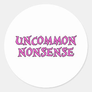 Uncommon Nonsense Classic Round Sticker
