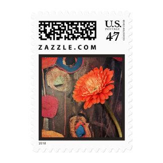 Uncommon Zinnia Postage Stamp
