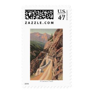 Uncompahgre Gorge and Million Dollard Highway Postage