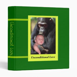 Unconditional Love 3 Ring Binder