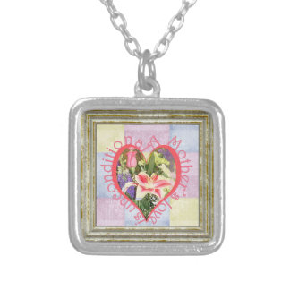 Unconditional Love Heart Silver Plated Necklace