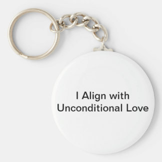 unconditional love keychain